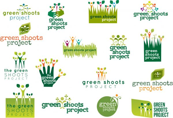 green shoots logo drafts
