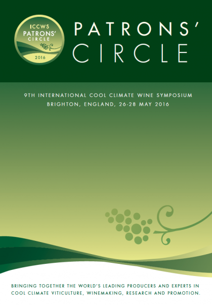 Programme Cover design for ICCWS patron's circle